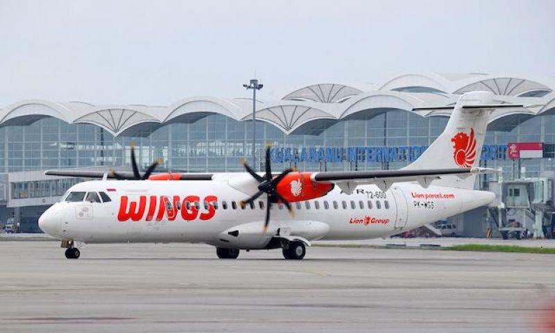 Wings Air Terbangi Rute Medan - Melaka