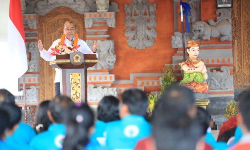 Menteri Desa Minta Bali Gunakan Dana Desa untuk Tanggulangi Sampah Plastik