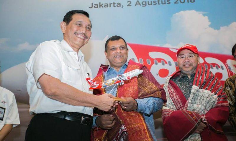AirAsia Terbangi Rute Kuala Lumpur - Bandara Silangit