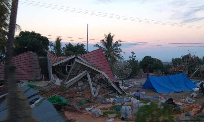 Masa Tanggap Darurat Gempa Lombok Diperpanjang