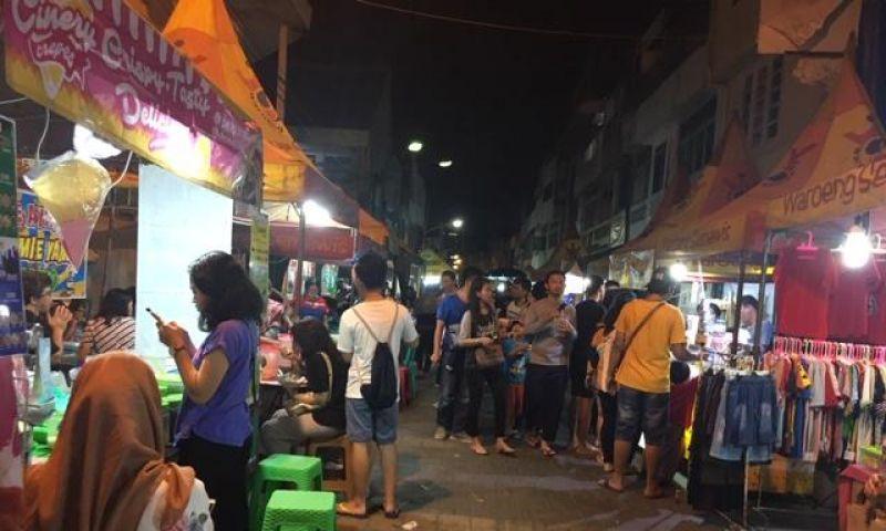 Semarang Punya Surga Kuliner di Night Market Semawis