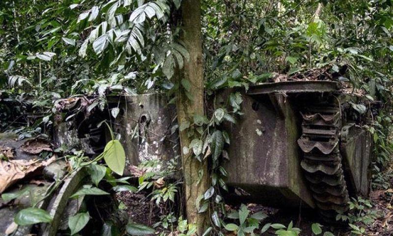 Raja Ampat Punya Situs Peninggalan Perang Dunia II