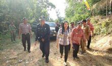 Akses Jalan Desa Gamang Terhambat Hutan Lindung