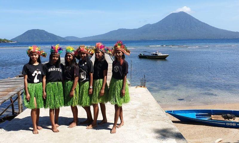 Potensi Selam di Desa Guareia Halmahera Barat sangat Besar