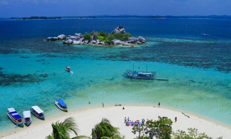 447 Ribu ha Kawasan Laut Belitung untuk Konservasi Taman Wisata