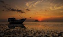 Senja Indah di Pantai Tanjung Pendam