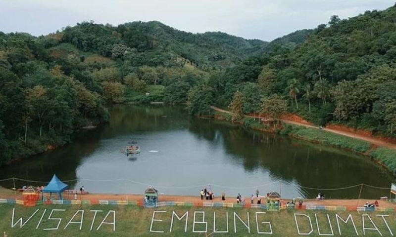 Keindahan Embung Dumati di Gorontalo