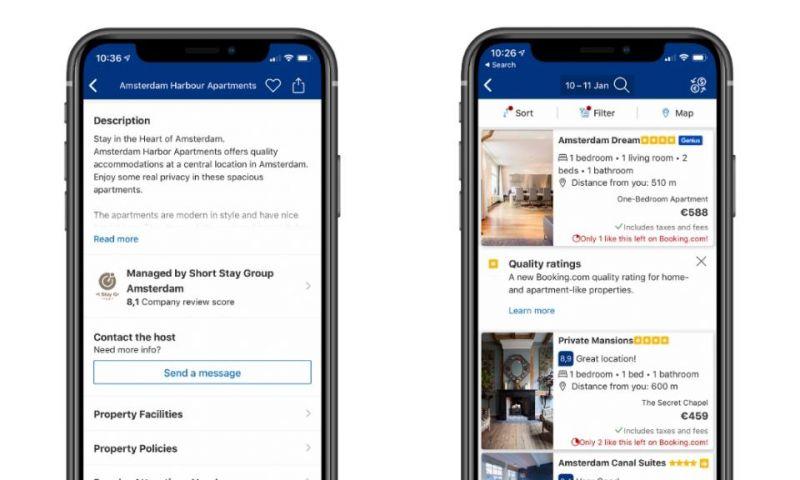 Booking.com Rintis Klasifikasi Bintang untuk Apartemen dan Vila