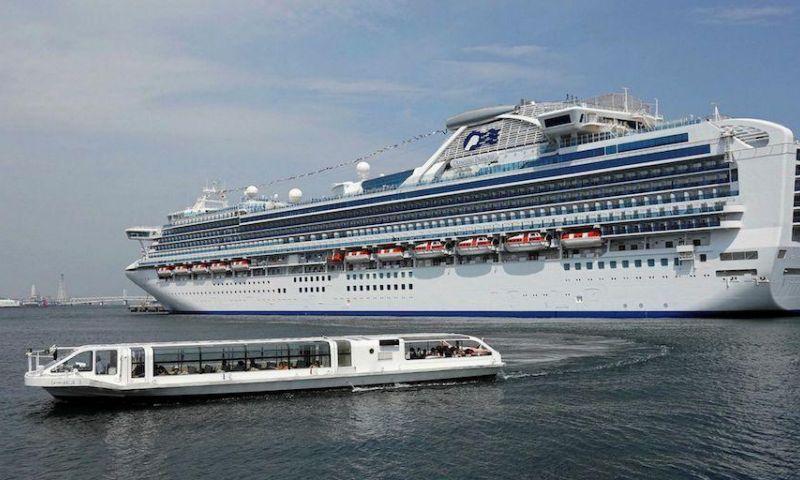 Taiwan Larang Kapal Pesiar Internasional Memasuki Galangan Kapal