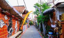 Kampung di Bekasi Rasa Bali