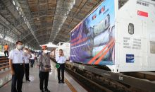 PT KAI Gratiskan Biaya Angkut 80 Ton Oksigen ke Surabaya