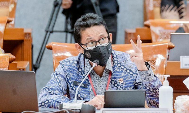DPR Setujui Pagu Anggaran Definitif Pariwisata 2022 Sebesar Rp3,7 Triliun
